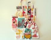 Travel organizer zipper bag cosmetic bag drawstring bag set of 4 bags