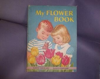 Large My Flower Children's Book / 1961