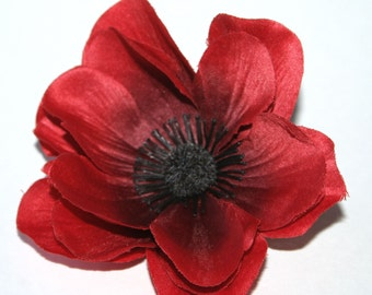 Red Anemone - Artificial Flowers, silk flowers