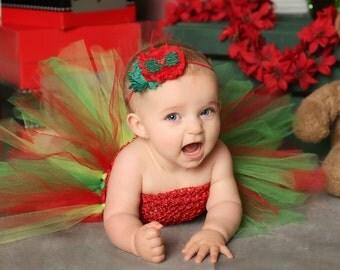 Holiday Headband Holly Berry Hostess Leaf Retro Christmas Hair