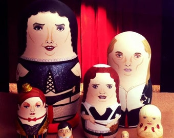The Rocky Horror Picture Show Matryoshka Dolls Deluxe