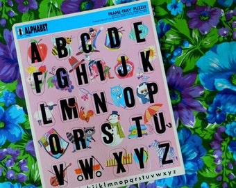 Vintage 1970s Alphabet Puzzle
