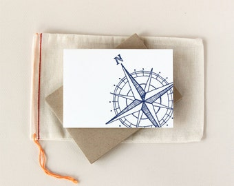 Compass Notecard Set