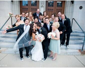 Wedding Neckties, Gingham Neckties, Black and White Gingham Mens Neckties, Wedding Neckties, Cotton Neckties