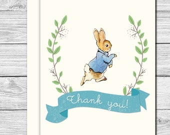Thank you Notes--Peter Rabbit Party