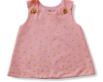 Toddler Girl Size 2T Pink and Gold Top or Dress