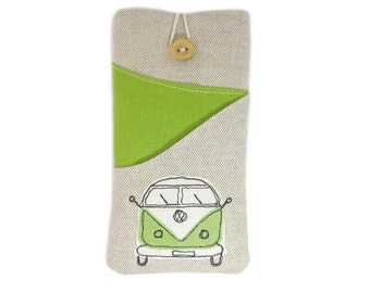 iPhone 6S Case, iPhone 5, Fabric iPhone Cover, iPhone 6 Case, VW Phone Case, 6S Plus Sleeve, iPhone 6S Plus Pouch, iPhone 6S Sleeve