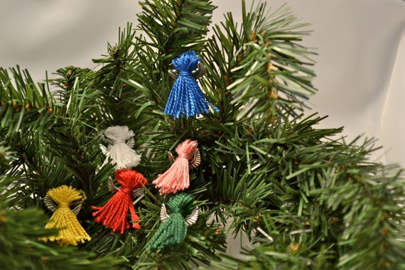 Mini Angel Christmas Ornaments