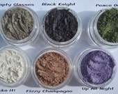 High Shimmer| Sparkle| Vegan Mineral Makeup Collection| Gift Set| Birthday Gift| Gifts for Teens| Sample Set of 6