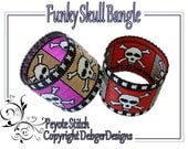 Funky Skull Bangle - Beading Pattern Tutorial