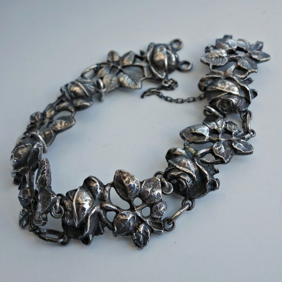 Fili peruzzi silver rose bracelet for Audry rose jewelry reviews