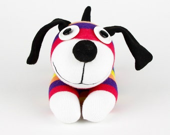 Christmas Gift New year Gift Handmade Sock Dog Stuffed Animal Doll Baby Toys
