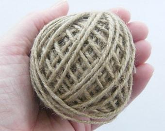 1 Roll hemp cord 1.3mm wide 18m long