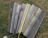 Reclaimed Old Fence Wood Boards - 1 Fence Board - 24 Inch Length - Weathered Barn Wood Planks - Good Condition - Great For Rustic Crafting!