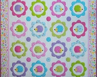 Happy Hedgehogs Quilt Pattern