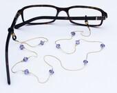Glasses Chain || Tanzanite