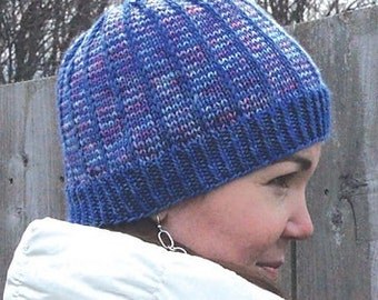 Items similar to Callista- Knit Hat Pattern on Etsy