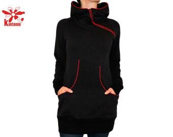 hooded dress Naila YB1