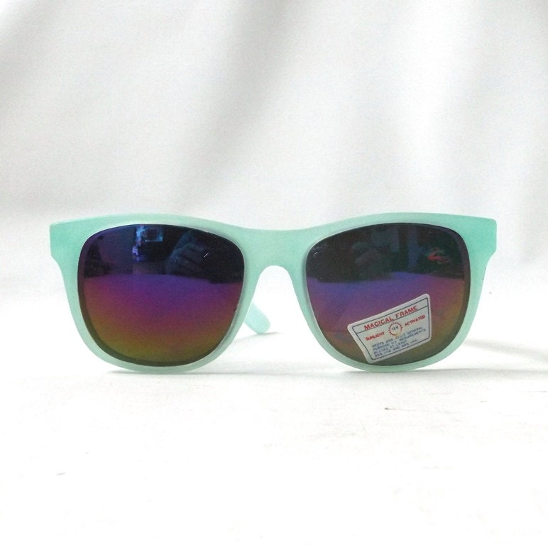 Glasses Frames That Change Color : vintage 1980 s NOS color changing wayfarer sunglasses mood ...