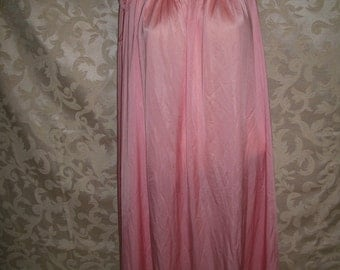 VIntage 60s Lace and Nylon Nightgown By Shadow LIne