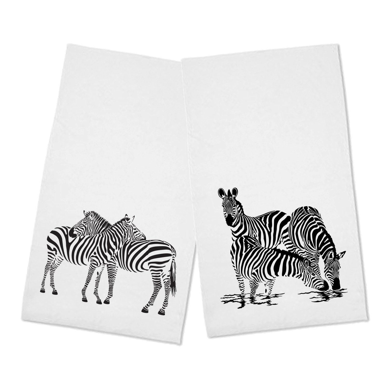Zebra Tea Towels