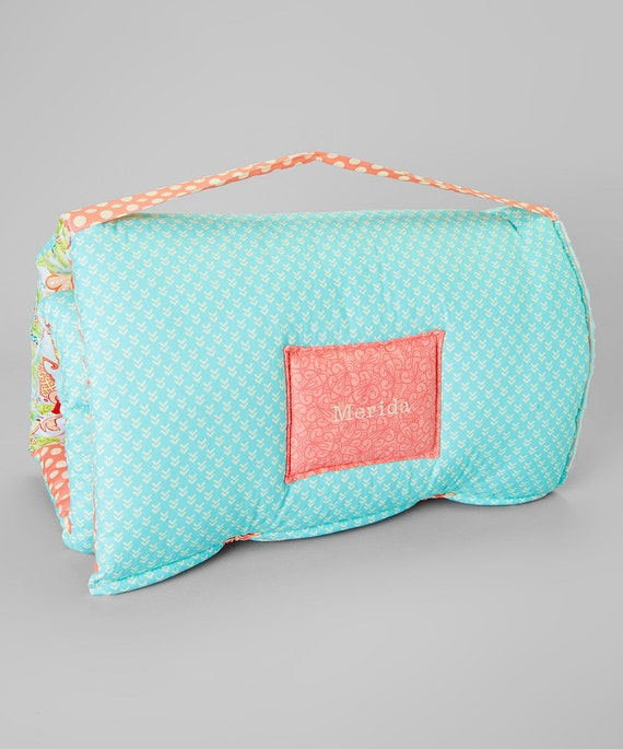 Sweet Peach Quilted Nap Mat By Janiebee Boutique Nap Mats