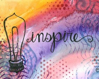 Inspire 5x7 Art Print