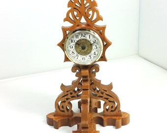 handcrafted Cherry clock Tipparary Timepiece