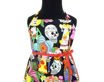 Novios Day of the Dead Gir'ls Dress