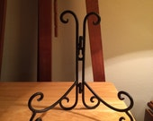 Metal decorative easel
