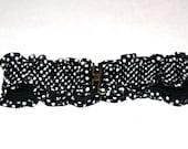 "Fun Vintage Spotted Elastic Corset Belt- Size 28""-36"" Waist"