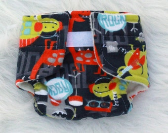 Baby Doll Diaper Monster Rock - Size Large