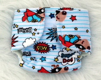Baby Doll Diaper Super Dog - Size Large