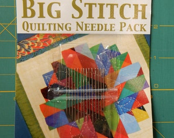 Big Stitch Quilting Needle Pack by Pepper Cory - Colonial Needle Company