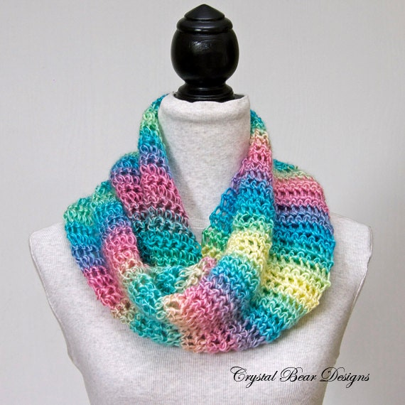 Easy Crochet PATTERN Infinity Scarf / Circle by ...