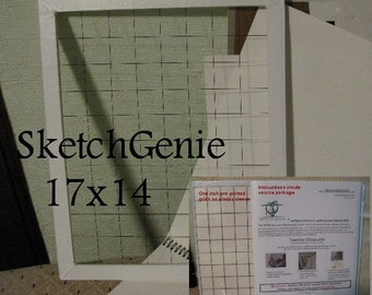 Large Sketch Genie Kit 17 X 14 frame with 12 X 15 Drawing Space