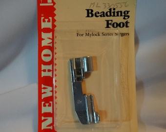 Beading Foot, Janome/New Home Overlock Series Serger Machine, Part No. ML330556; 200033