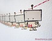 Little Mr Robot Advent Calendar