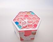 Geometric Bee Box Cutting File