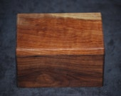 Walnut and Quitled Maple Jewelry Box