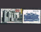 44  Postage Stamps - Architecture - Buildings