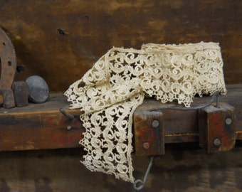 antique lace trim (by the foot)
