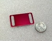 NEW Size -- Large Size -- Laser Engraved Pet ID Tag -- Slider Style -- (Made in the USA)