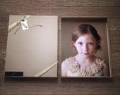 Recycled Kraft Photography Boxes for 11x14 prints- -- Set of 10