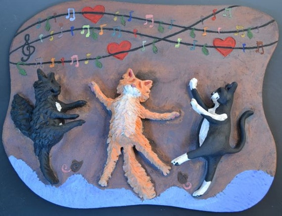 Custom Pet Wall Relief-Wall Sculpture of Your Dog or Cat- Any Pet-Made to Order