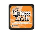 Tim Holtz MINI Distress Ink Pad SPICED MARMALADE  Orange