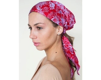 Women's Headscarf, Silk & Cotton, Fashion, Hair Coverup, Head Scarves, Turban Head Wrap, Hair Cover headscarves, Head Scarf, Gift for Her