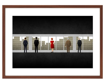 Mad Men poster - the Phantom