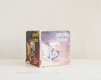 Vintage Photo Cube