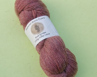 Red Grape Silky Lace